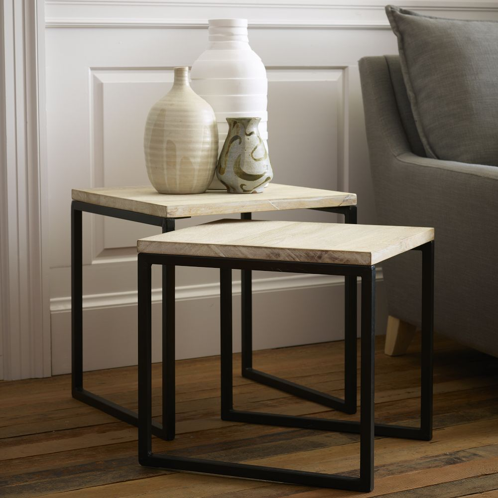 Nesting Tables West Elm Choice Image Bar Height Dining Table Set - West elm maisie side table