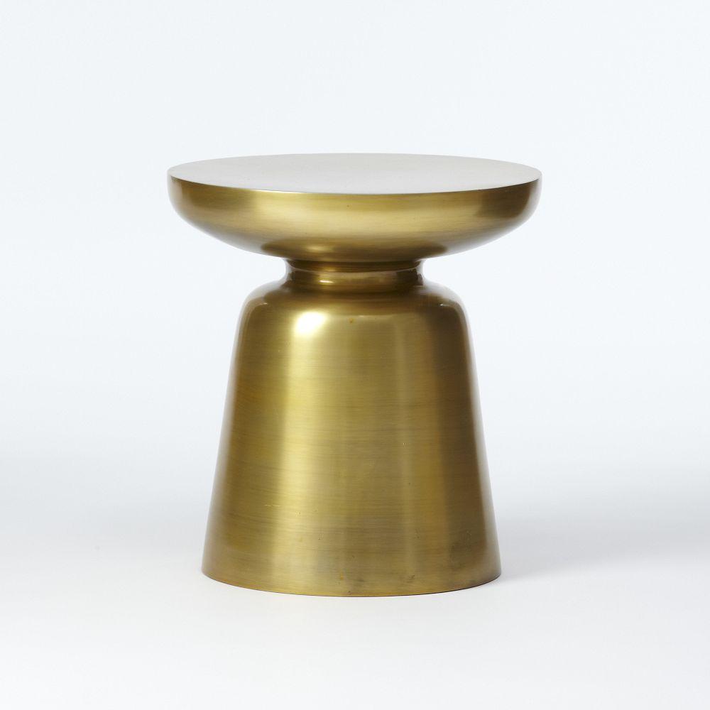 home martini side table metallics