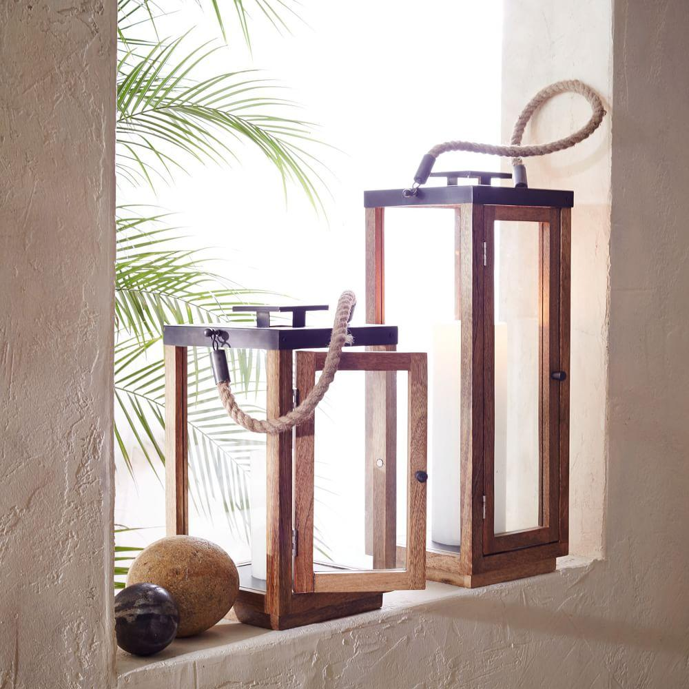 Wood + Rope Lanterns