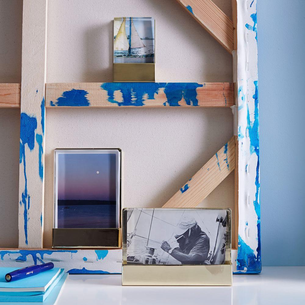 Acrylic + Metal Frames