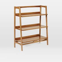 Mid-Century Bookshelf - Low