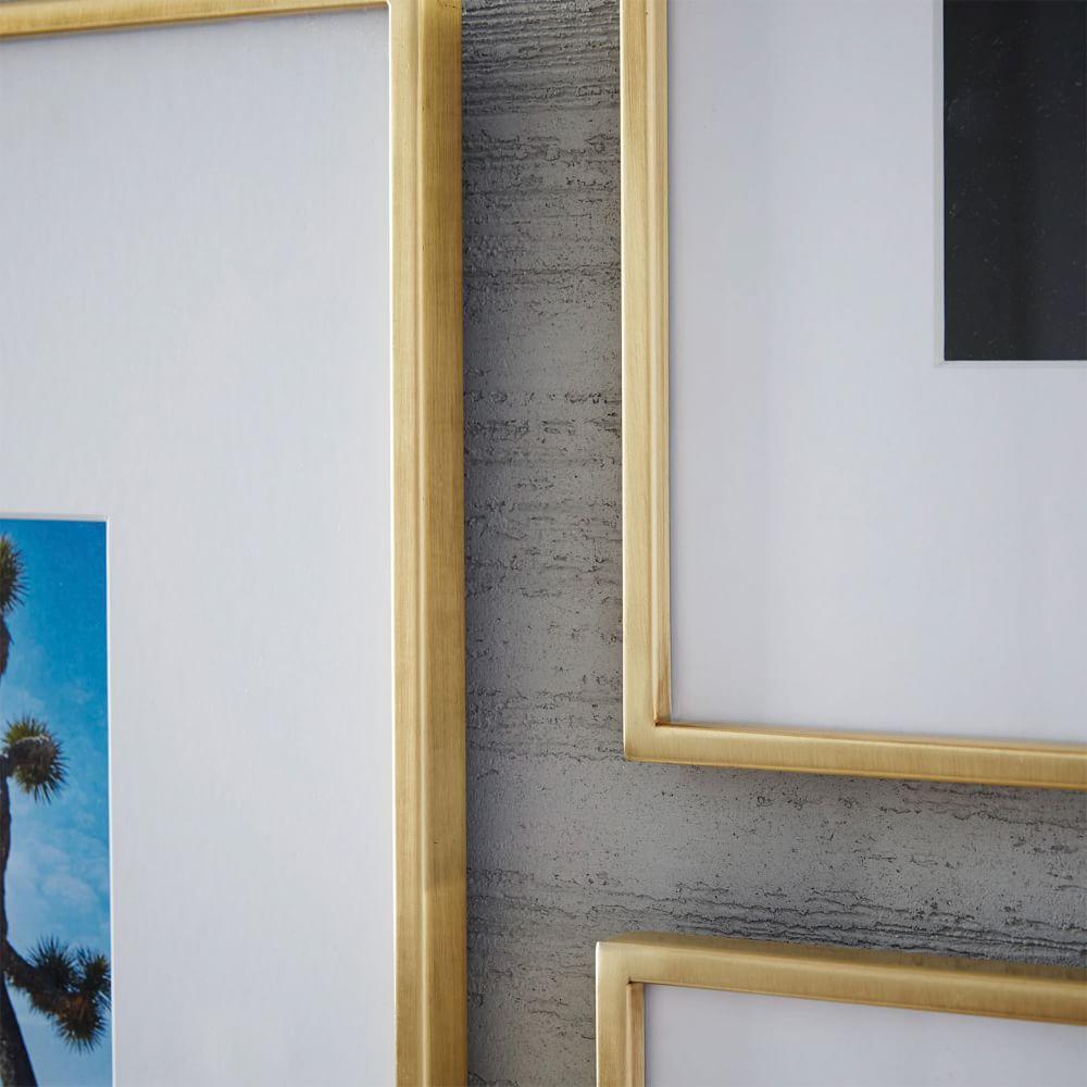 Gallery Frames - Polished Brass