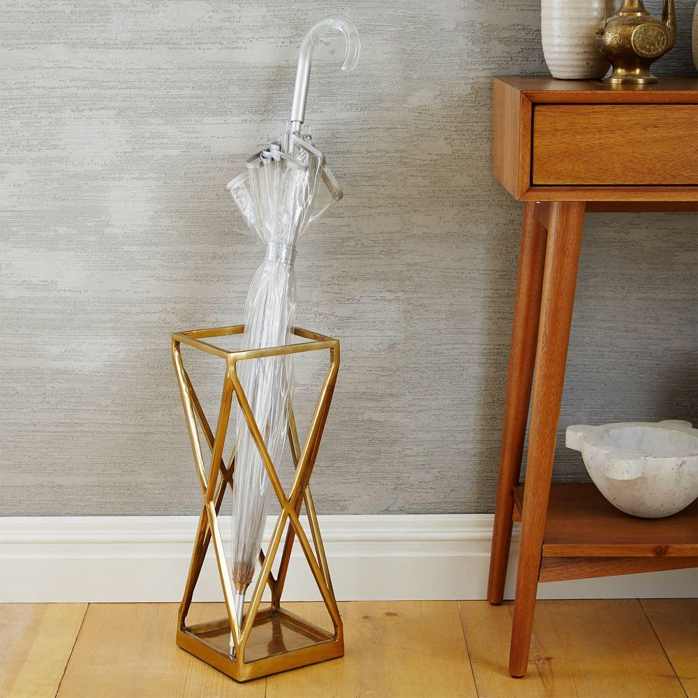 Umbrella Stand Designs : Geo umbrella stand west elm uk
