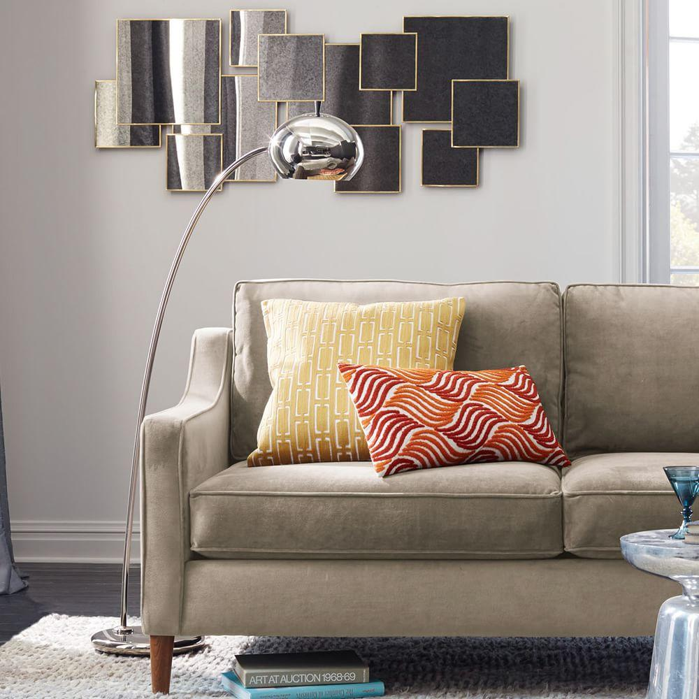 Overlapping Squares Mirror West Elm Uk