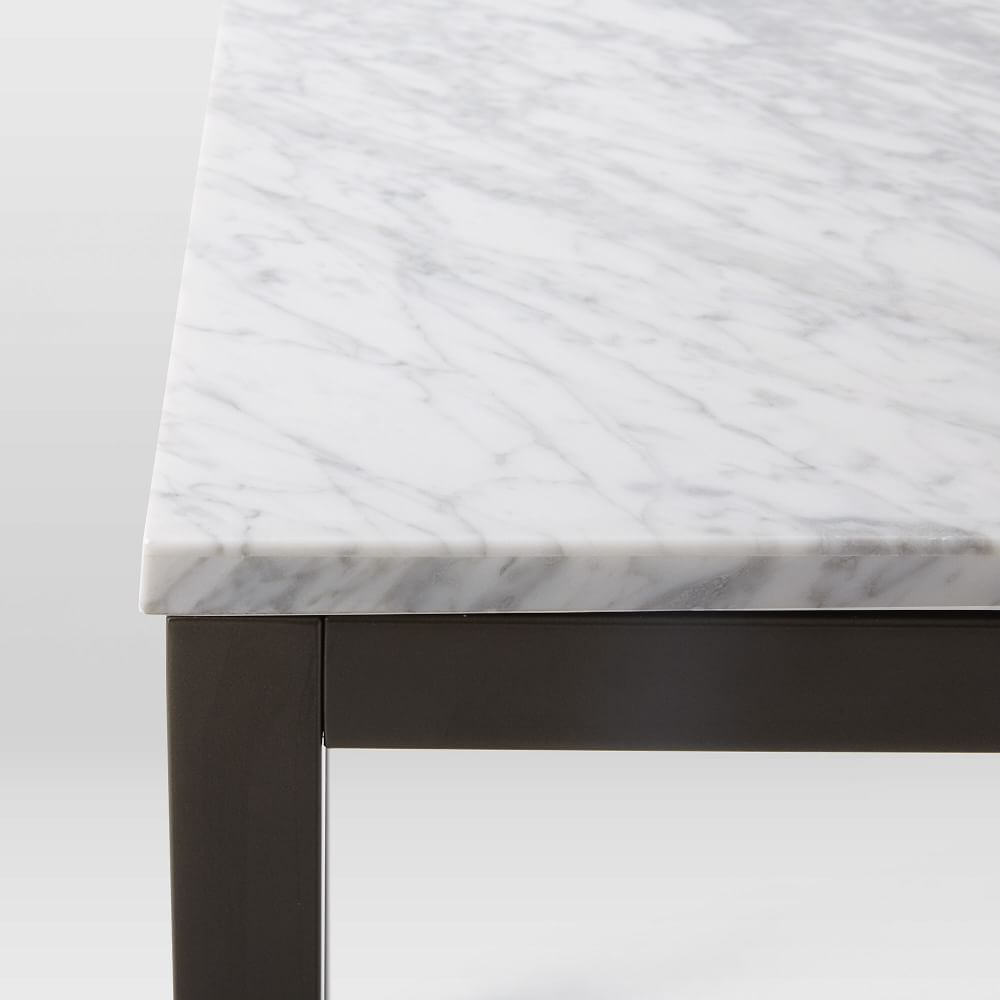 Box Frame Dining Table - Marble | west elm UK