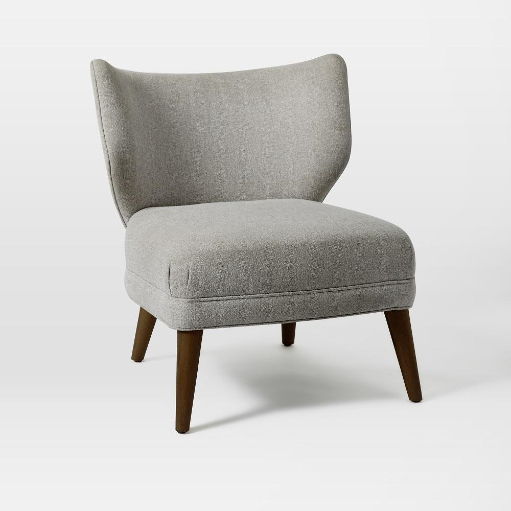 Wingback Chair Retro Wing Chair West Elm Uk