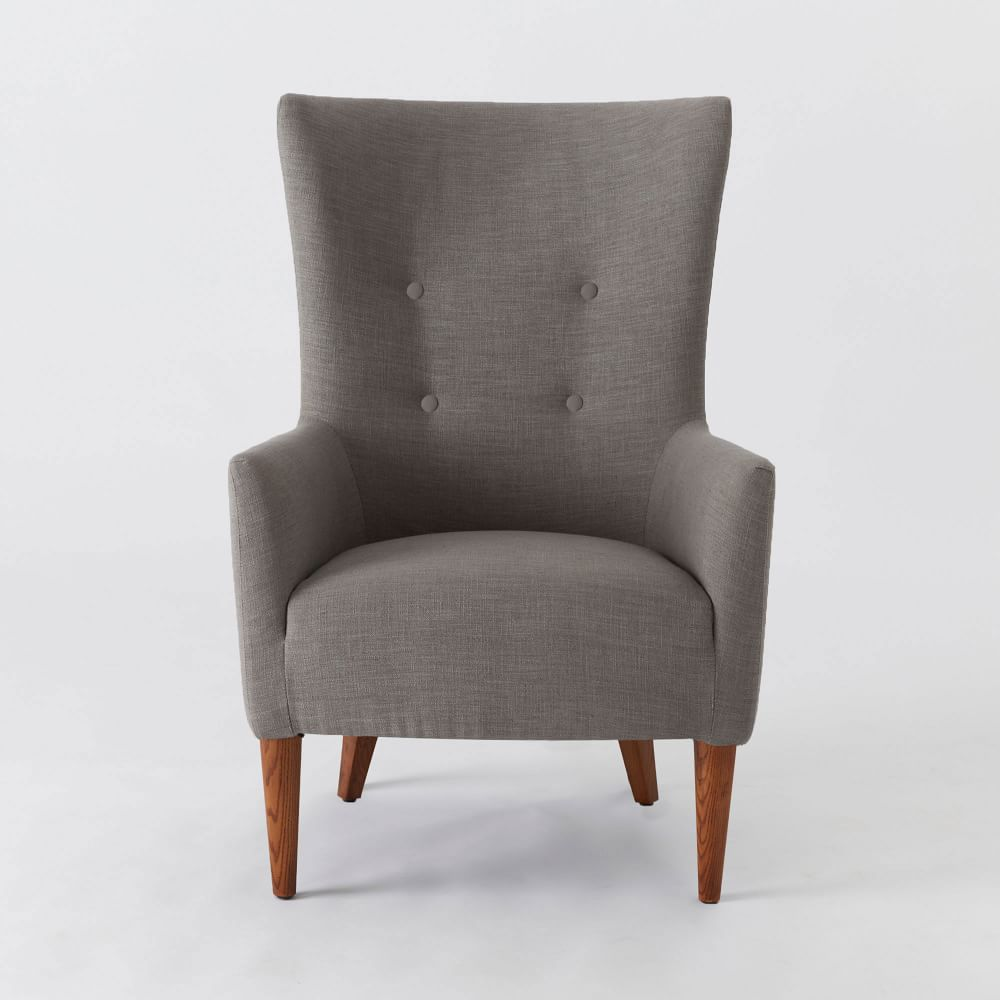 Victor armchair west elm uk for Furniture armchairs