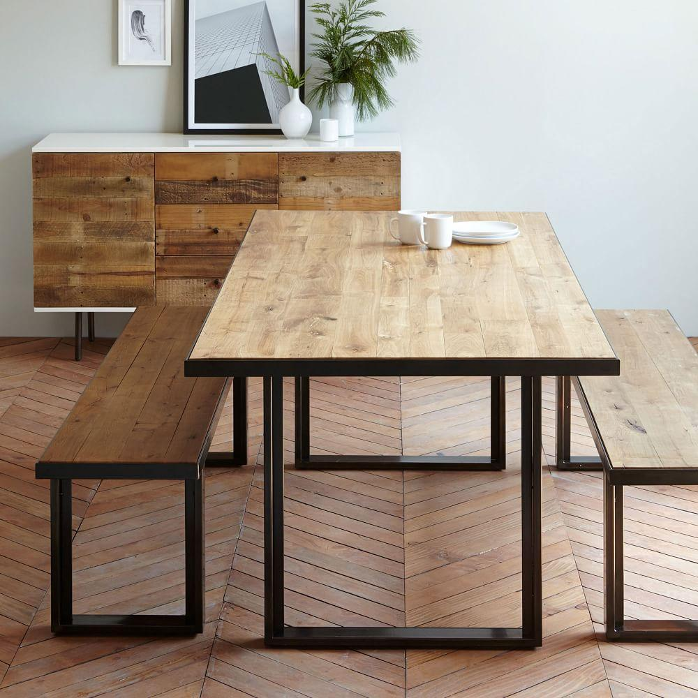 Industrial Modern Dining Room Table: Modern Furniture, Home Decor & Home Accessories