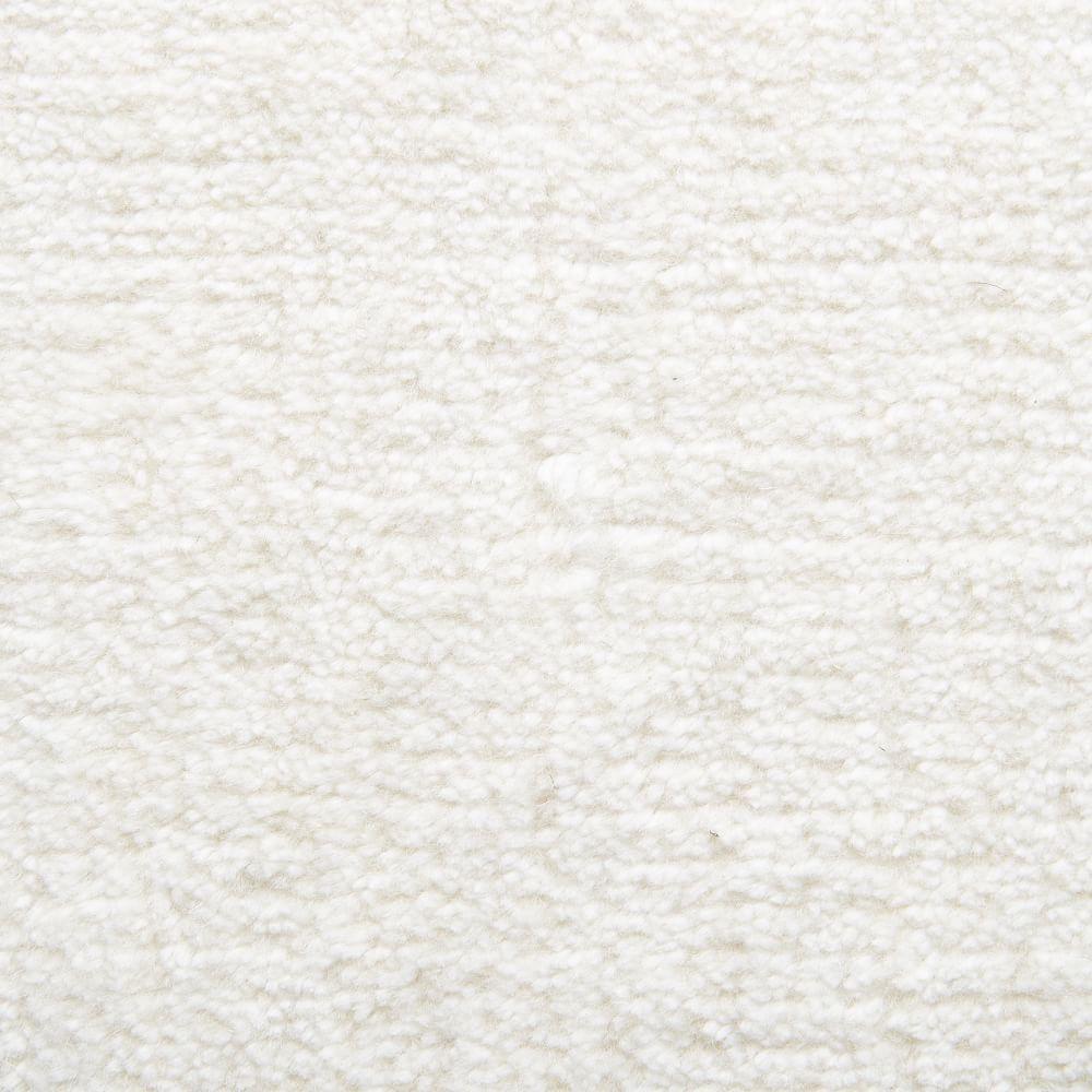 Hand Loomed Shine Rug Gray: Handloomed Shine Rug - Ivory