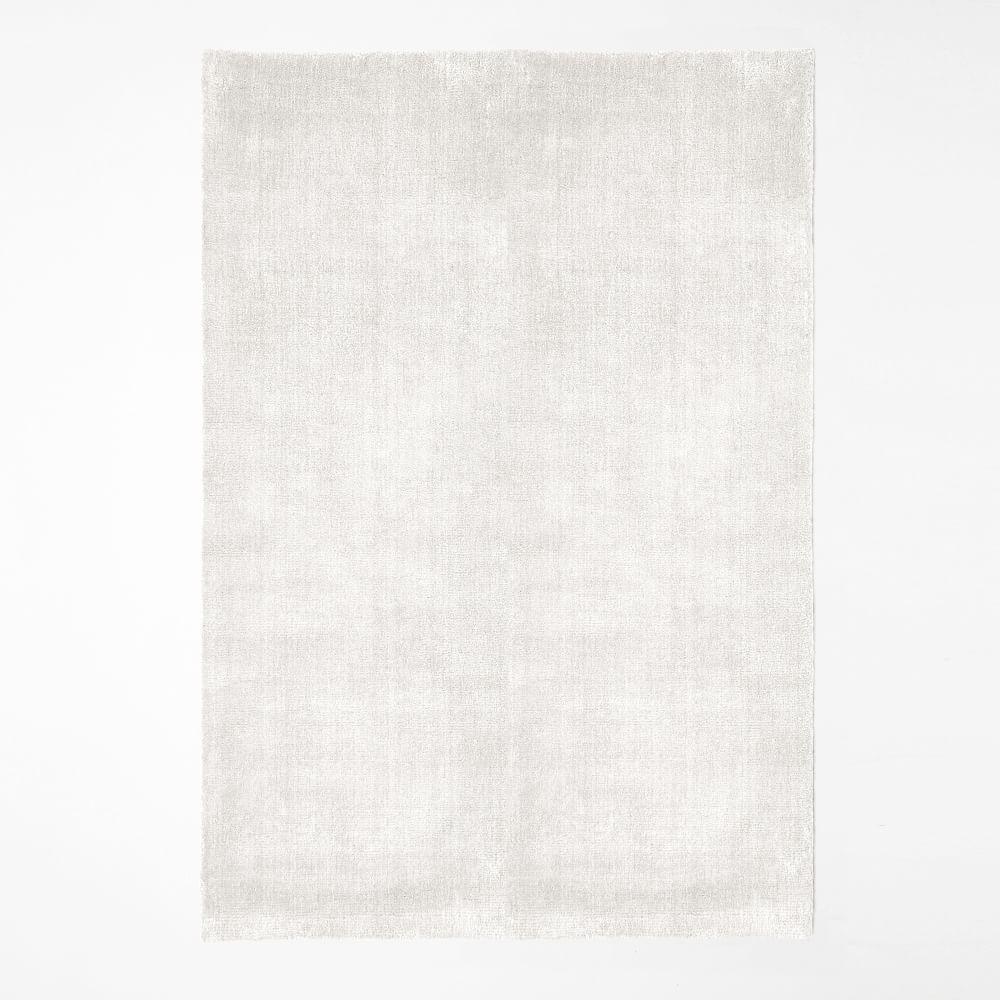 Christopher Wynter Art Rug Ivory: Handloomed Shine Rug - Ivory