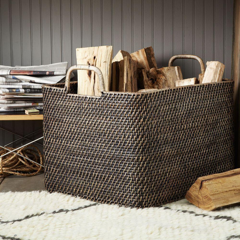 Modern-Weave Oversized Storage Bin