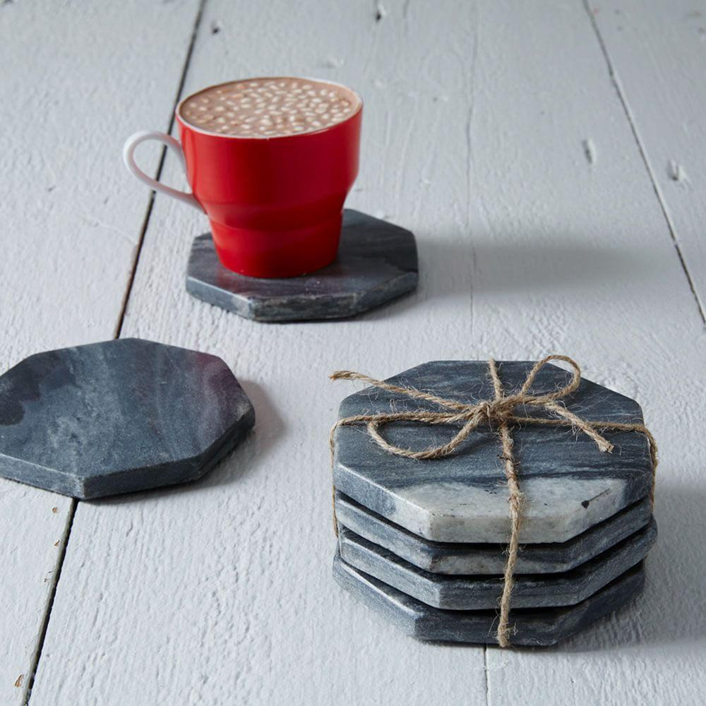Stone Hexagonal Coasters
