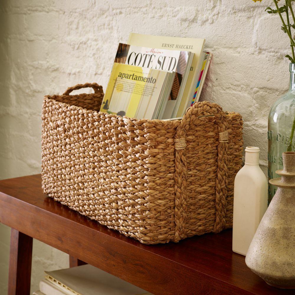 Braided Console Basket