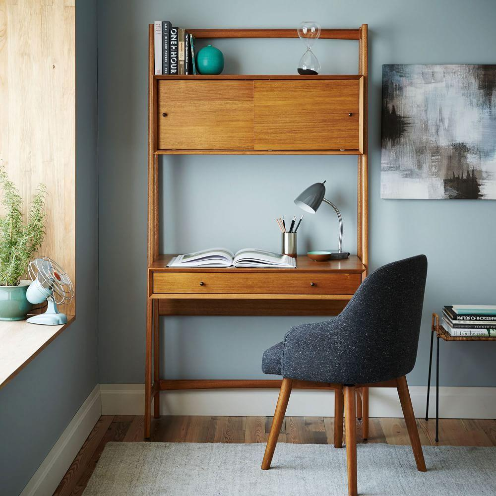 Mid-Century Wall Desk