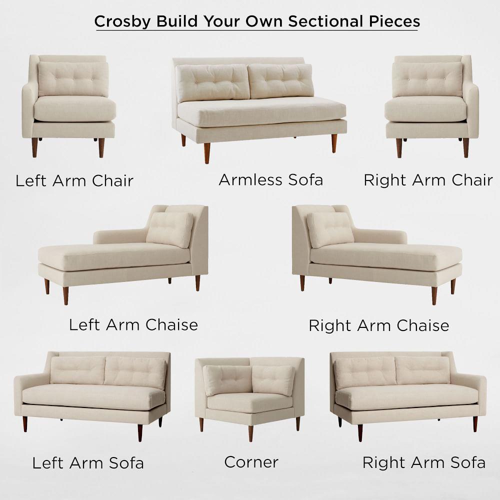 build your own crosby sectional west elm uk. Black Bedroom Furniture Sets. Home Design Ideas