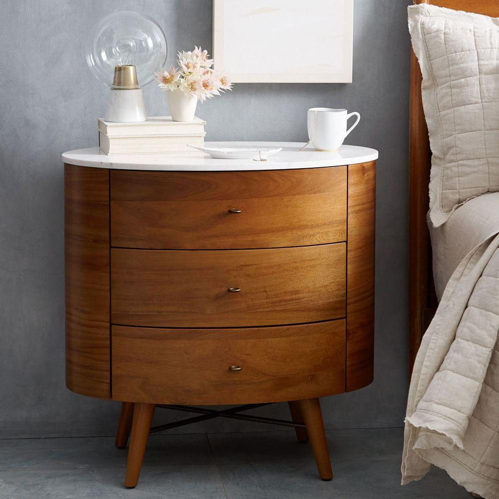 drawers cabinet anself bedside furniture brown of table dp bedroom chest