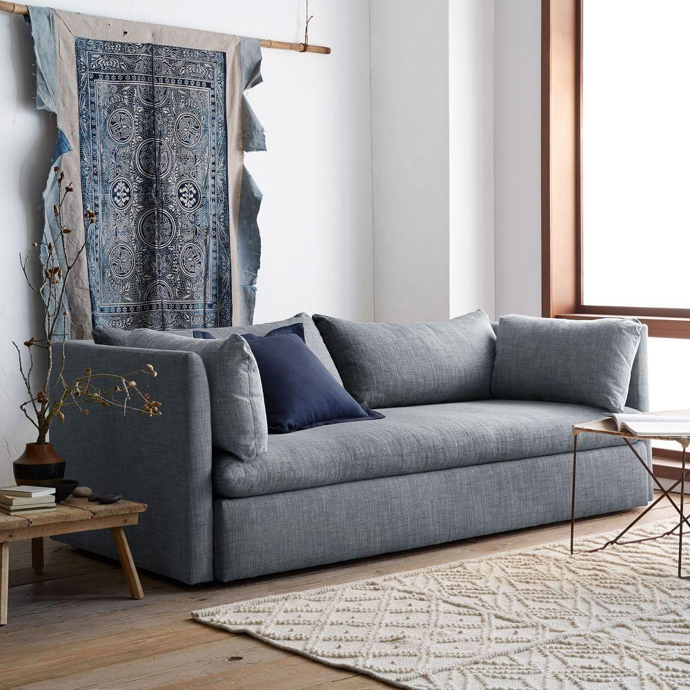Shelter sofa 213 cm west elm uk for West elm sectional sofa reviews