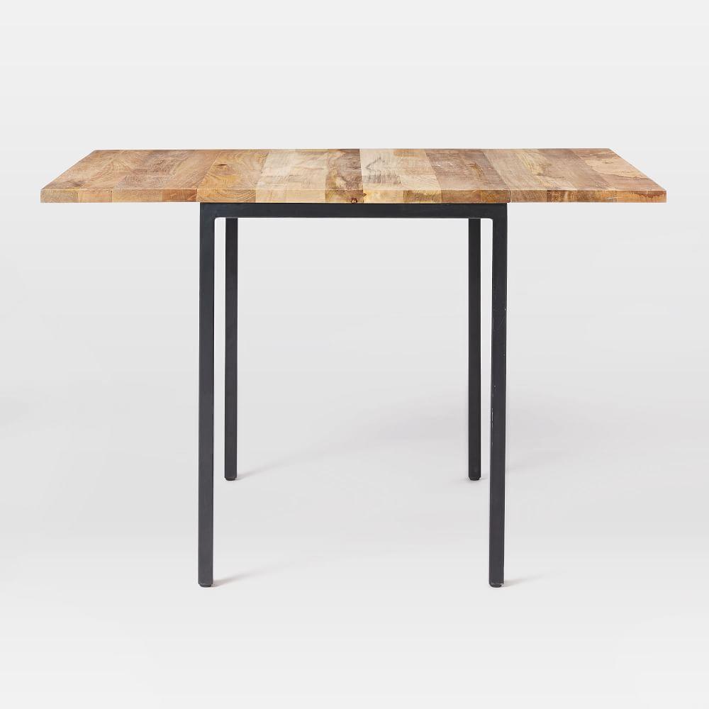 Box Frame Drop Leaf Expandable Table