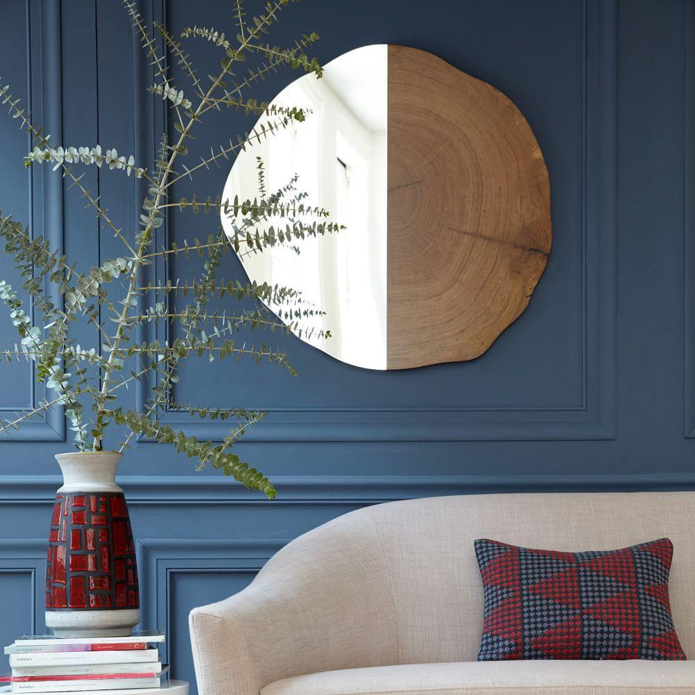 Tree Ring Wall Mirror