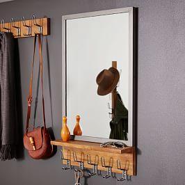 Industrial Entryway Mirror