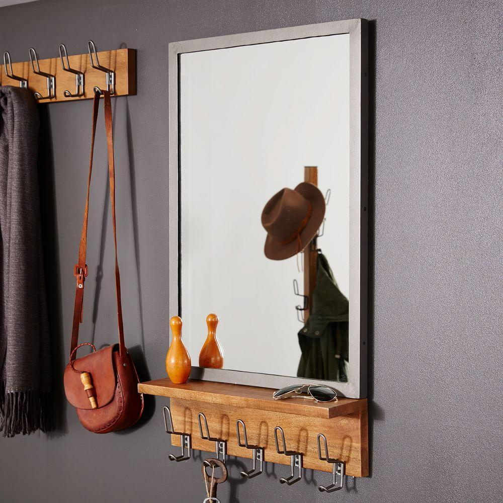 Industrial Entryway Mirror