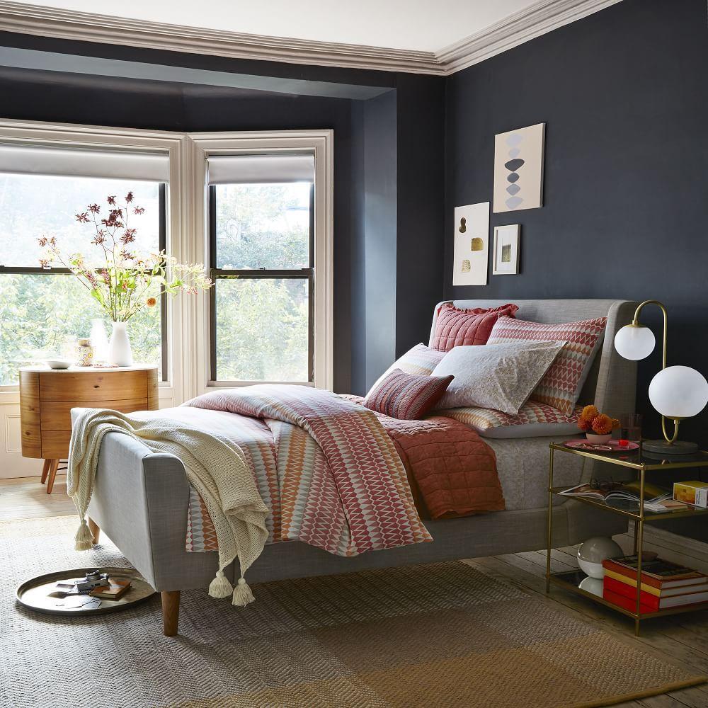 Upholstered Sleigh Bed West Elm Uk