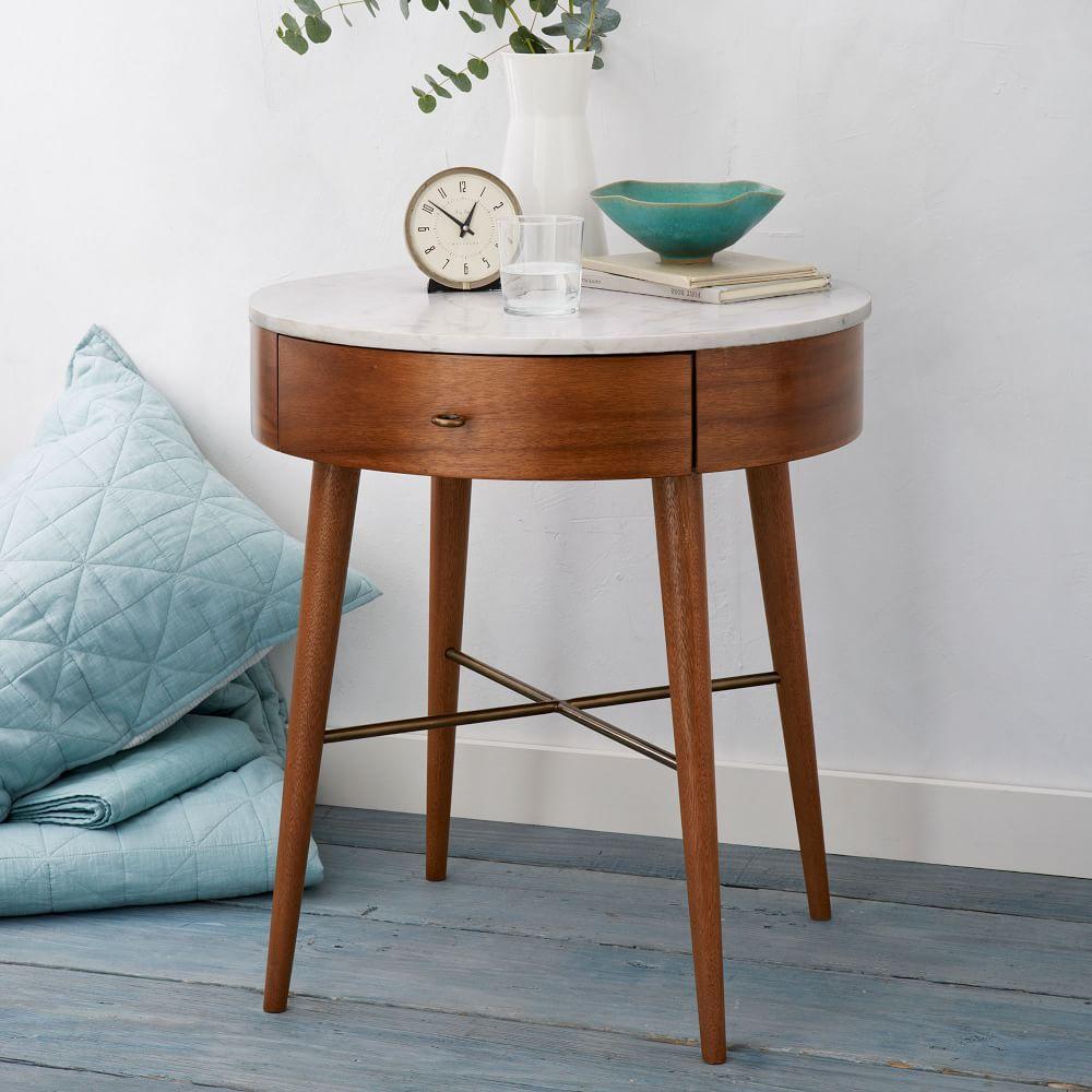 Penelope bedside table west elm uk for Coffee tables 30cm wide