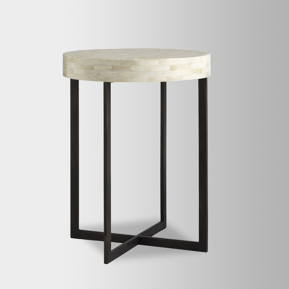 new concept a9300 66012 Bone Side Table