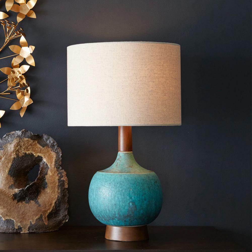 Sphere Stem Table Lamp West Elm Uk