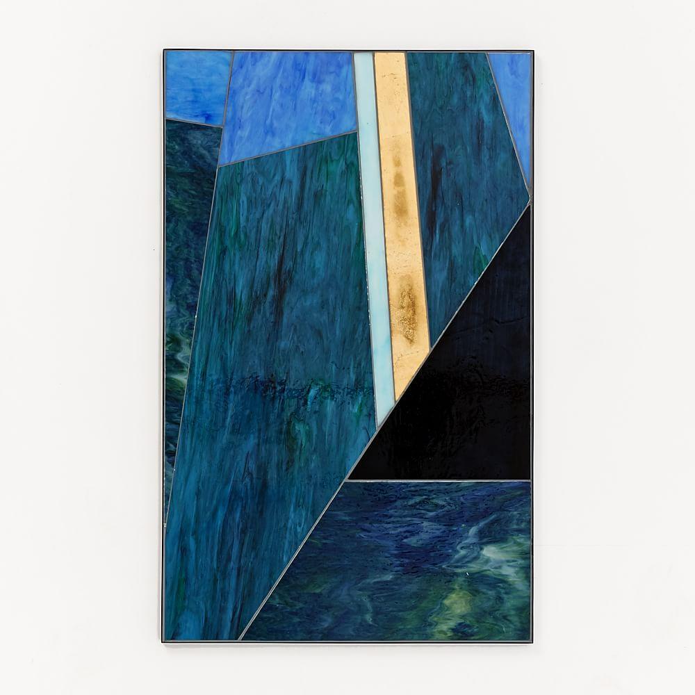Roar + Rabbit Glass Triptych, Panel II