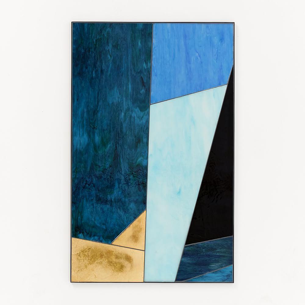 Roar + Rabbit Glass Triptych, Panel III