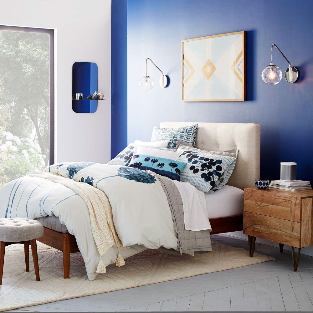 Roar + Rabbit™ Brass Geo Inlay Bedside Table