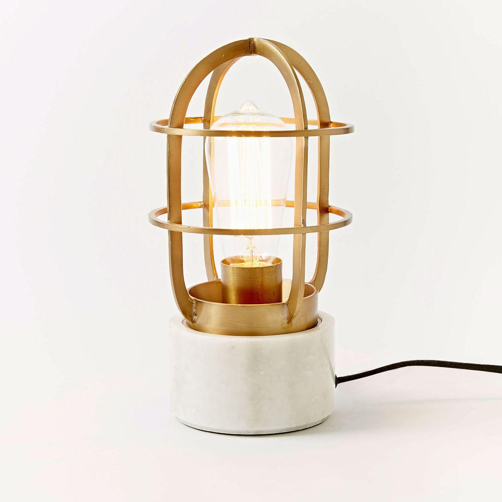 Mini Industrial Cage Lamp
