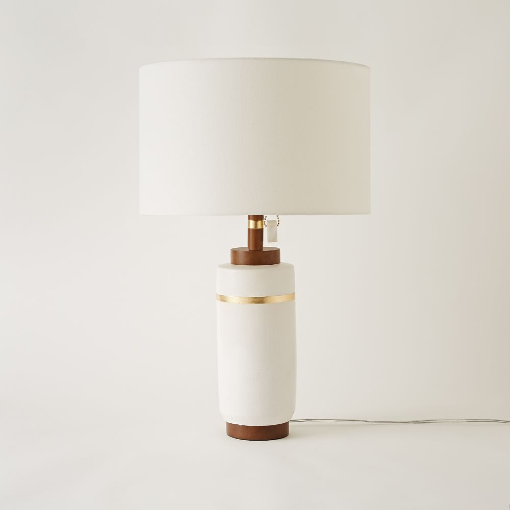 Roar Rabbit Crackle Glaze Ceramic Table Lamp Large