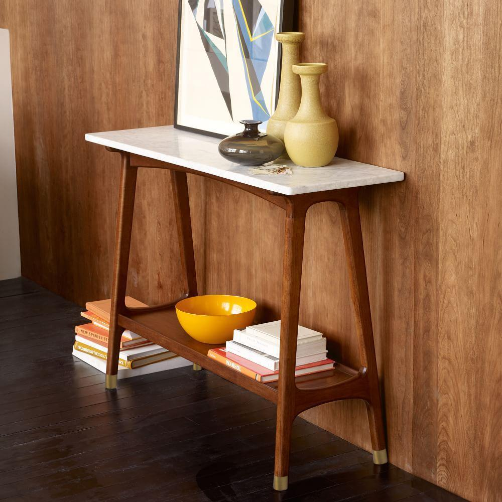 Reeve Mid Century Console West Elm Uk