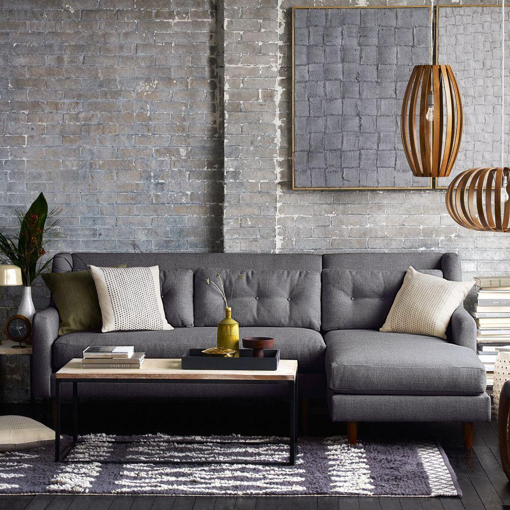 Build Your Own Crosby Sectional West Elm Uk