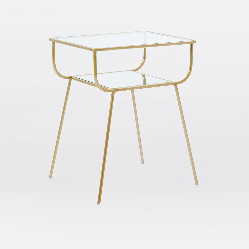 new concept 08131 75ee1 Curved Terrace Bedside Table
