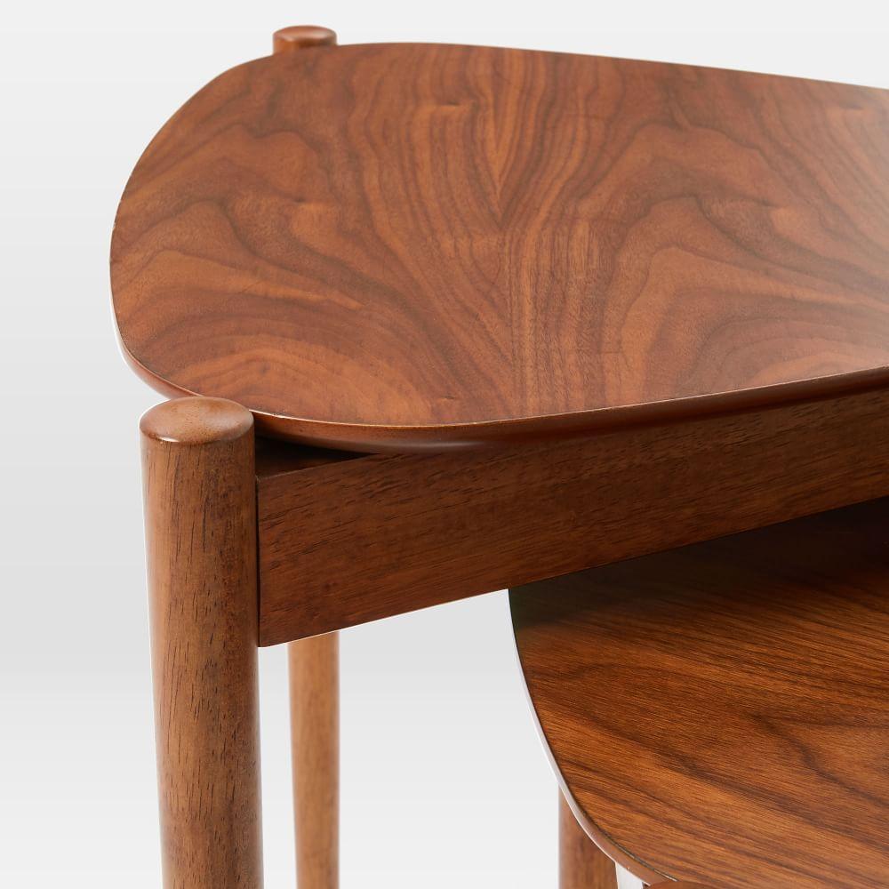 Small Retro Coffee Table Uk: Retro Tripod Nesting Tables