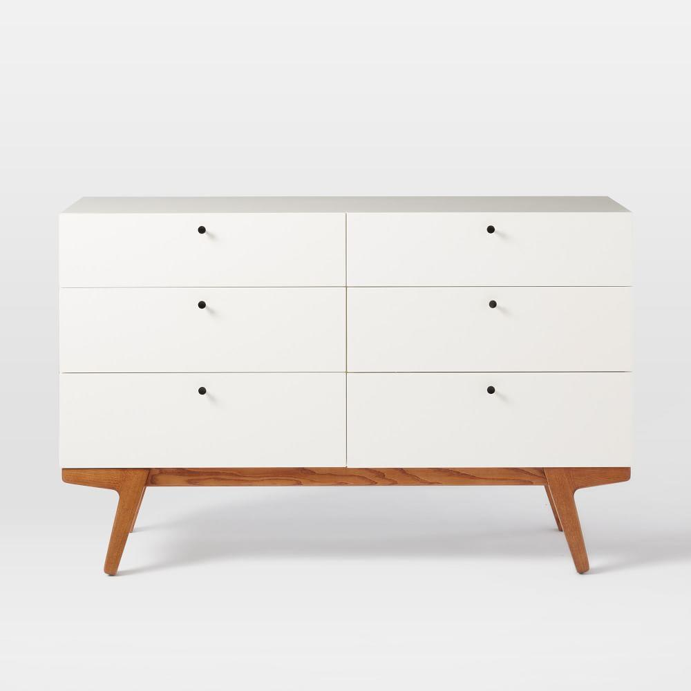 modern drawer chest  west elm uk - modern drawer chest