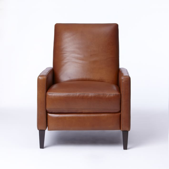 Sedgwick Recliner Leather West Elm Uk