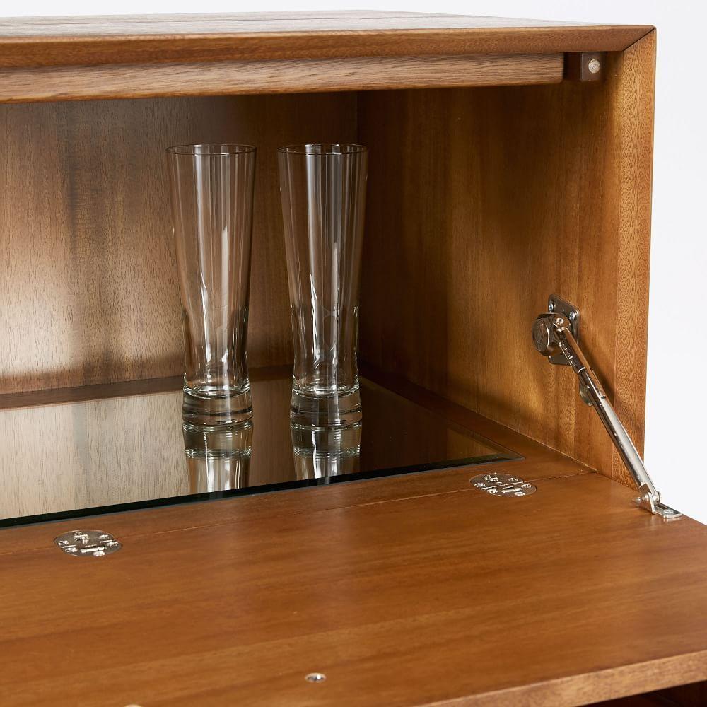 Mid Century Bar Cabinet Large West Elm Uk