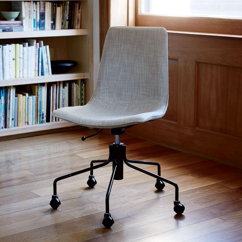 West Elm Chairs: Slope Upholstered Office Chair