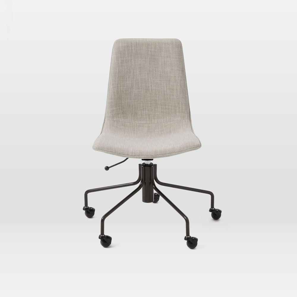Slope Upholstered Office Chair West Elm Uk