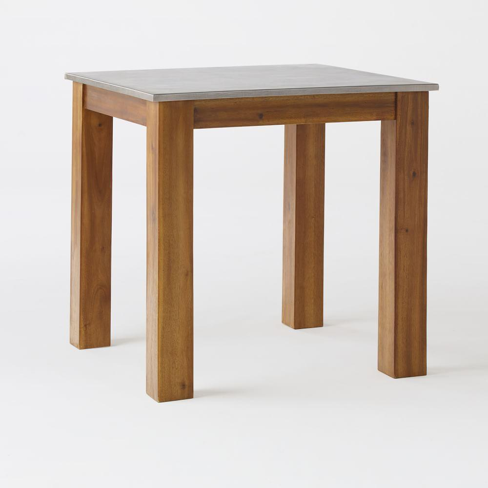 Rustic Kitchen Square Table West Elm UK