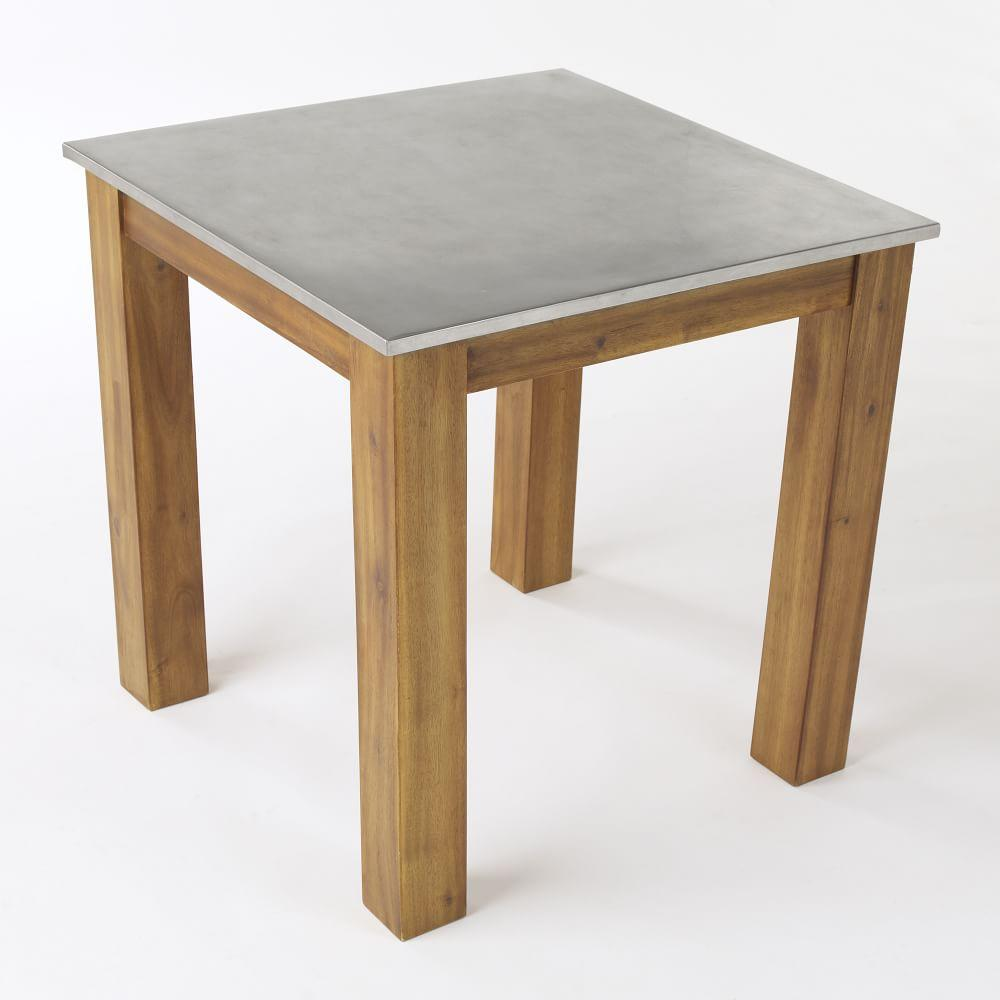 West Elm Rustic Kitchen Table: Rustic Kitchen Square Table