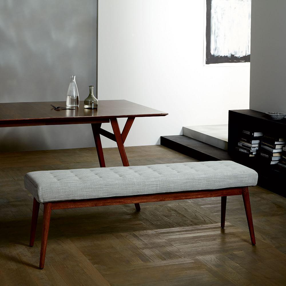 Tufted Dining Bench West Elm Uk