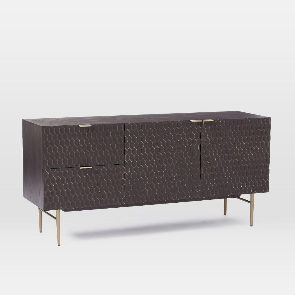 Audrey Dining Sideboard - Charcoal