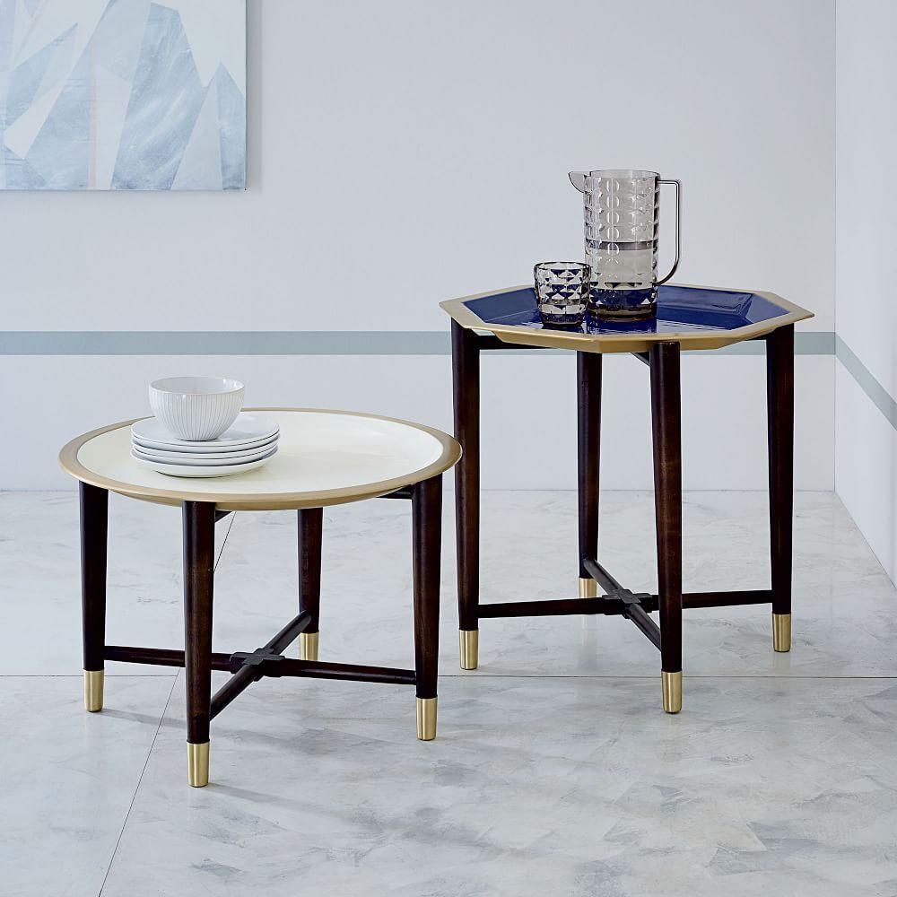 Enamel Tray Coffee Table