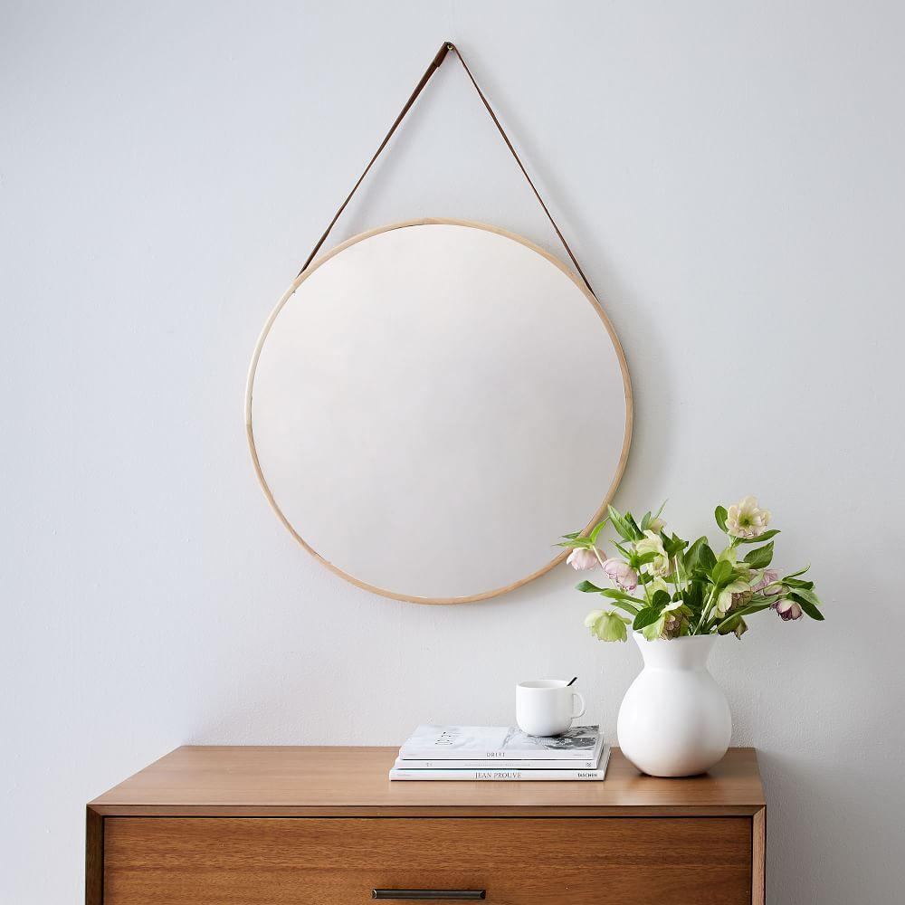 Modern Hanging Mirror West Elm Uk