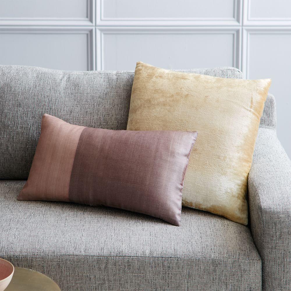 Sari Silk Cushion Cover Rosette West Elm Uk
